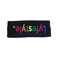 Black Multi Box Headband