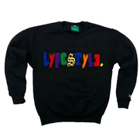 "Kids ""Mixed-Up"" Multicolor Lyfestyle Sweatshirt"