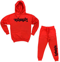 Black w/ Red Lyfestyle Sweatsuits
