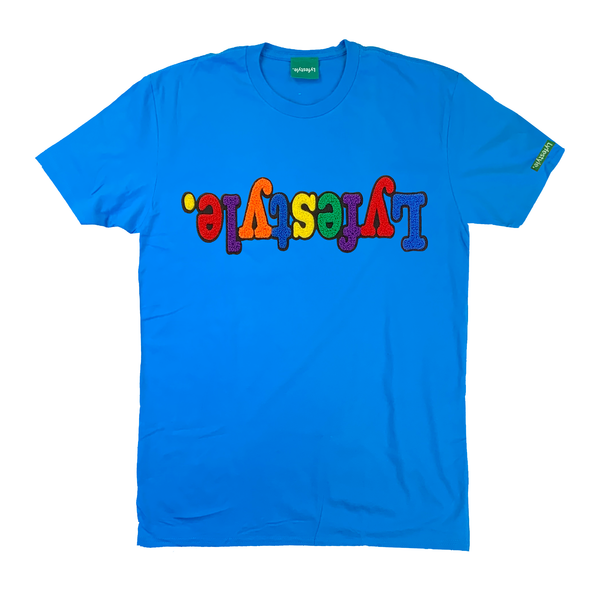 Turquoise Multicolor Lyfestyle Tee