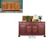 Antique Jacobean Buffet