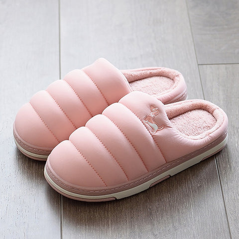 Winter Down Soft Indoor Slippers For Girls - slipper shoes