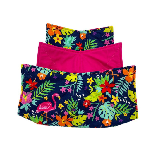 Microwave Bowl Cozy - Flamingo Print