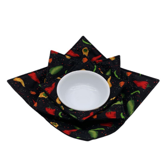 Microwave Bowl Cozy - Chili Pepper