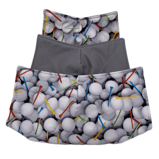 Microwave Bowl Cozy - Golf balls