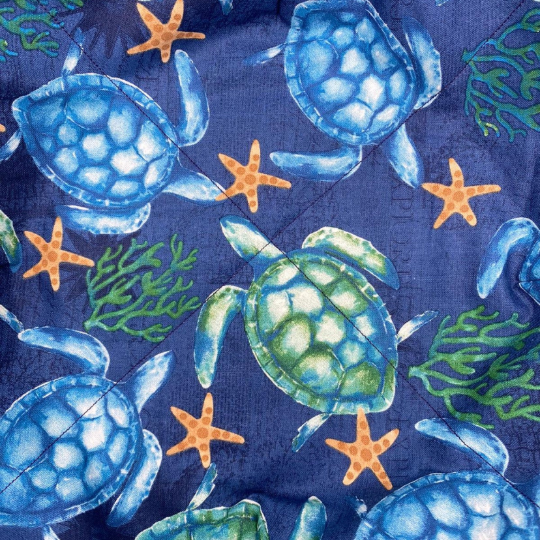Microwave Bowl Cozy - Turtle Print