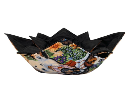 Microwave Bowl Cozy - Dog Printed