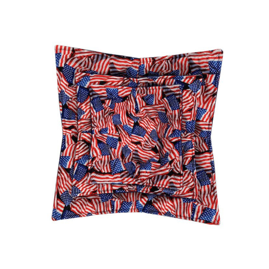 Microwave Bowl Cozy - American Flag