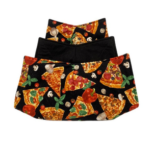 Microwave Bowl Cozy - Pizza printed