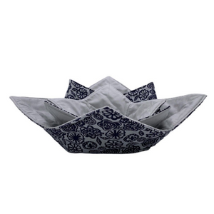 Microwave Bowl Cozy - Grey