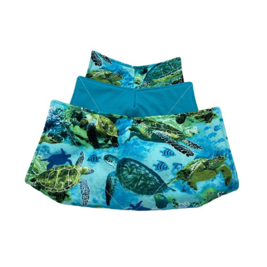 Microwave Bowl Cozy - Turtle & Fish