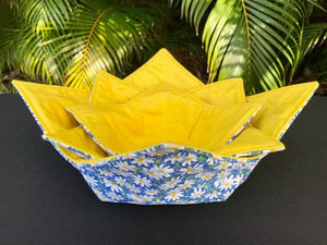 Microwave Bowl Cozy - Daisy