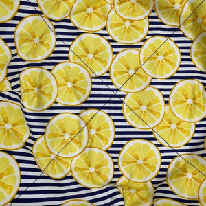 Microwave Bowl Cozy - Lemon