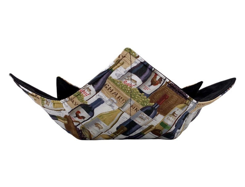 Microwave Bowl Cozy - Wine Printed