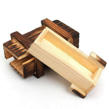 Magic Trick Wooden Secret Puzzle Box