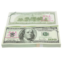$100 Dollar Bundle Fake Money Movie Prop