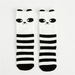 Kids Unisex Cute Cartoon Animal Socks (0-3 years old) (Pack of 1 pair)