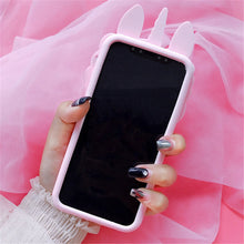 Pink Unicorn Soft Silicone Phone Case (iPhone X)