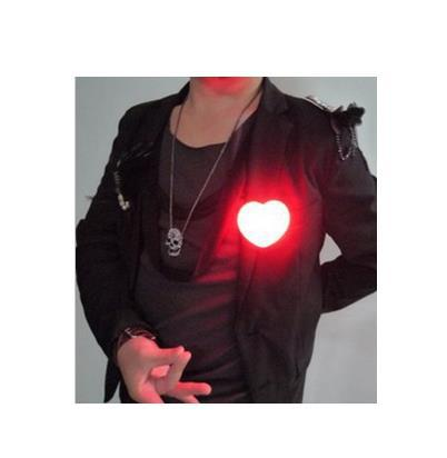 Red Heart Light Magic Trick