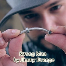 Strong Man Bending Screw Magic Trick