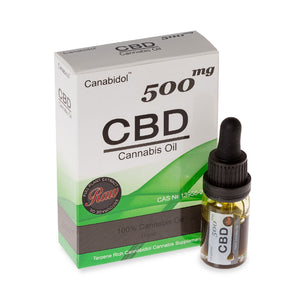 CBD Oil Dropper - Raw - 500mg