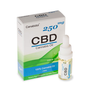 CBD Oil Dropper - Clear - 250mg
