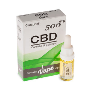 CBD Vape Liquid - 500mg