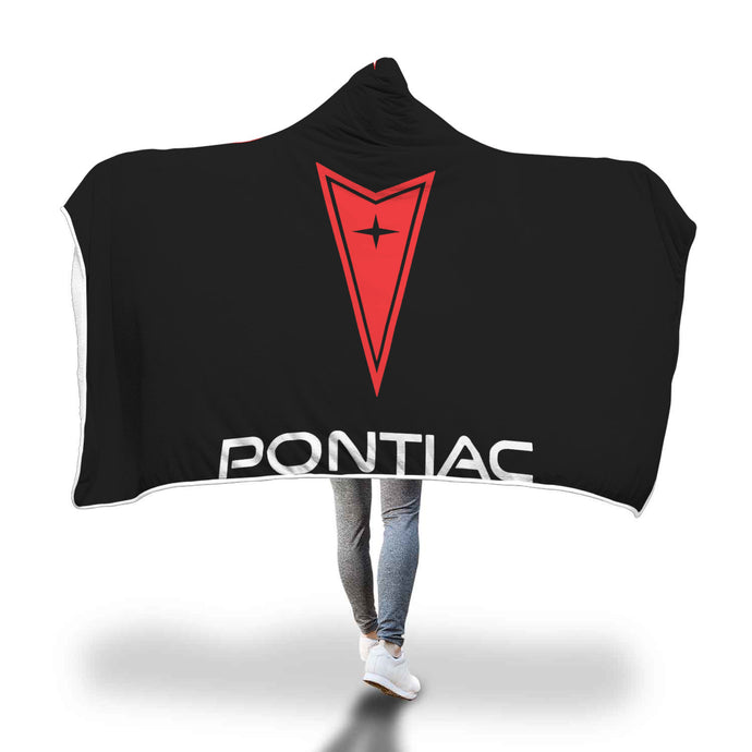 Pontiac Hooded Blanket, Hooded Blanket - MotorClub Clothes