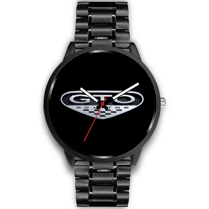GTO Logo Watch, Black Watch - MotorClub Clothes