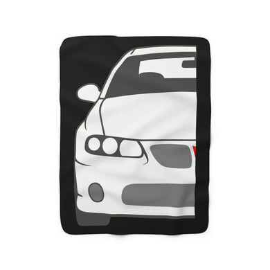 GTO Sherpa Fleece Blanket, Home Decor - MotorClub Clothes