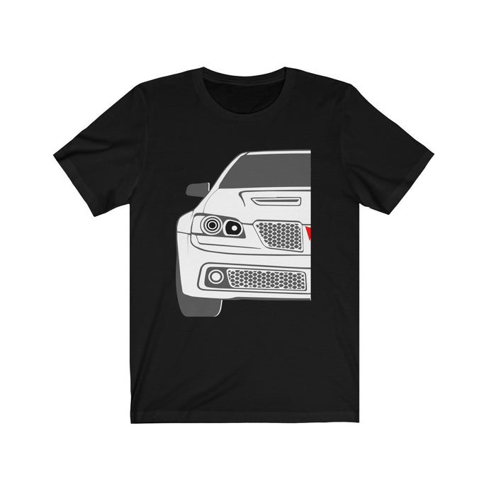 G8 Outline, T-Shirt - MotorClub Clothes