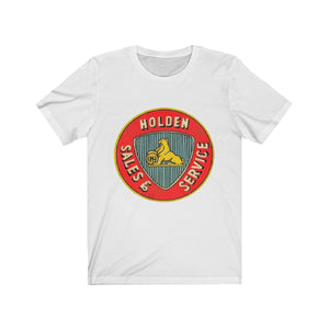 Vintage Holden Parts and Service, T-Shirt - MotorClub Clothes