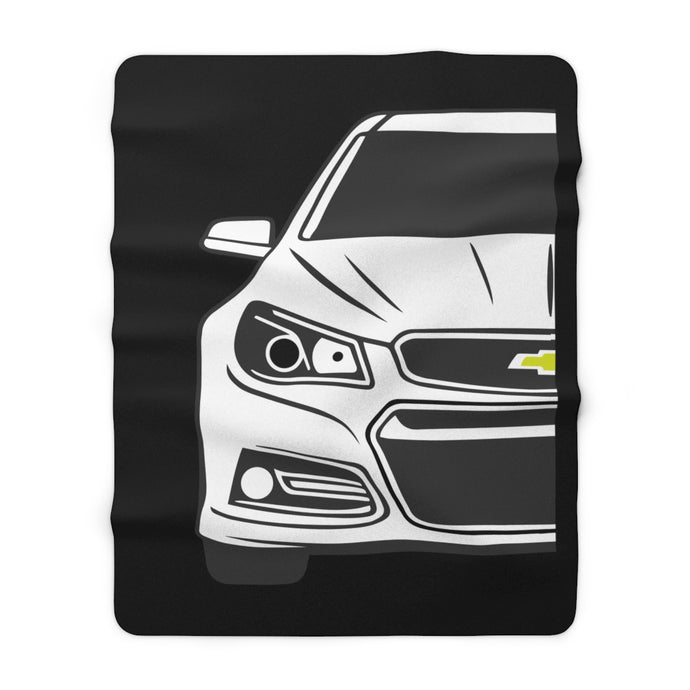 SS Sherpa Fleece Blanket, Home Decor - MotorClub Clothes