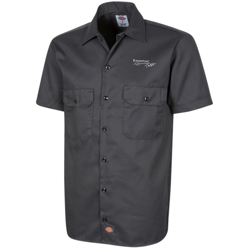 Dickies Pontiac Racing Work Shirt, Work Apparel - MotorClub Clothes