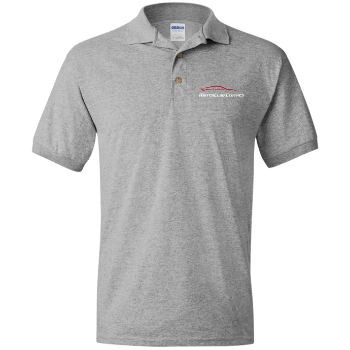 MotorClub Clothes Logo Polo, Polo Shirts - MotorClub Clothes