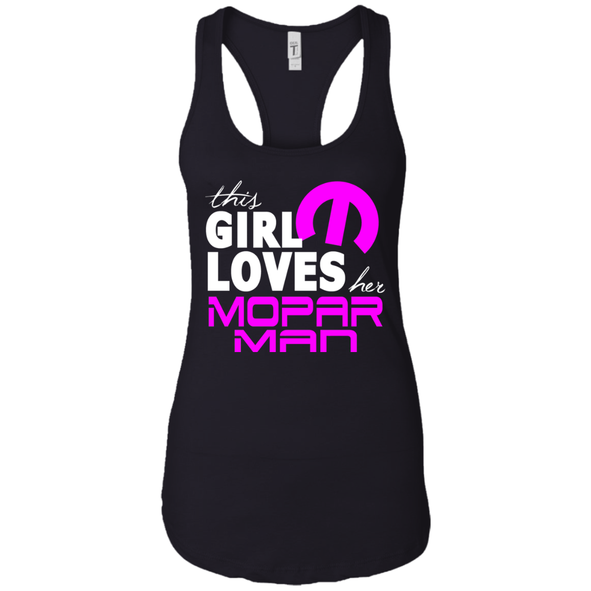 This Lady Loves Her Mopar Man Tank Top, T-Shirts - MotorClub Clothes
