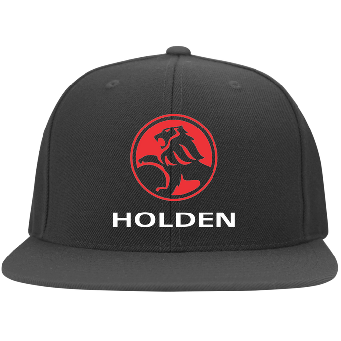 Holden Flat Bill Twill Flexfit Cap, Hats - MotorClub Clothes