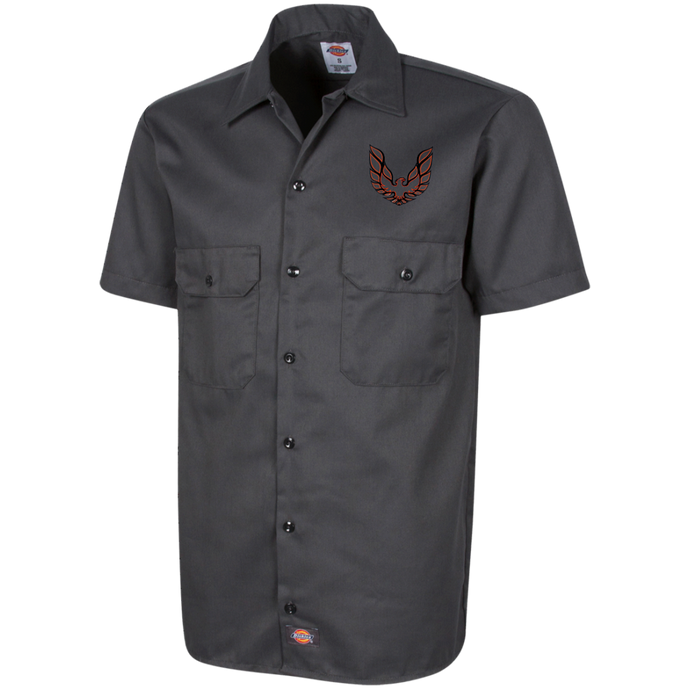 Dickies Firebird Work Shirt, Work Apparel - MotorClub Clothes