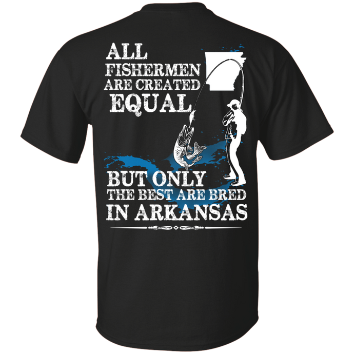 Arkansas Fishermen T-Shirt, T-Shirts - MotorClub Clothes