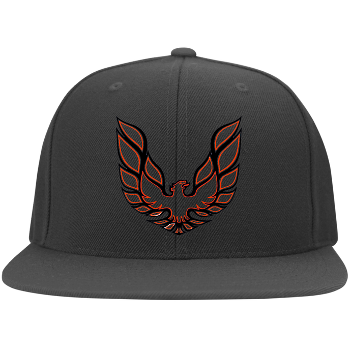 Firebird Flat Bill Twill Flexfit Cap, Hats - MotorClub Clothes