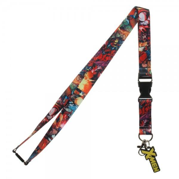 X-Men Comic Collage Lanyard,  - MotorClub Clothes