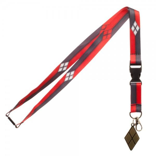 DC Comics Harley Quinn Suit Up Lanyard,  - MotorClub Clothes