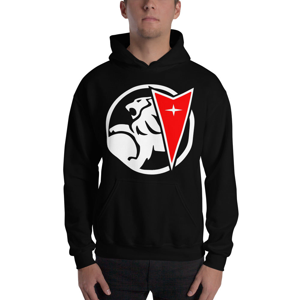 Holden Pontiac Family Hooded Sweatshirt,  - MotorClub Clothes