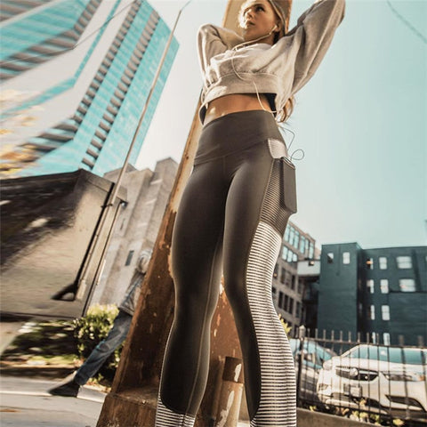 FashionMe Activewear Leggings telefon tartóval
