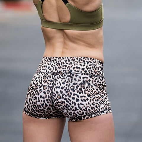 FashionMe Leopárd short