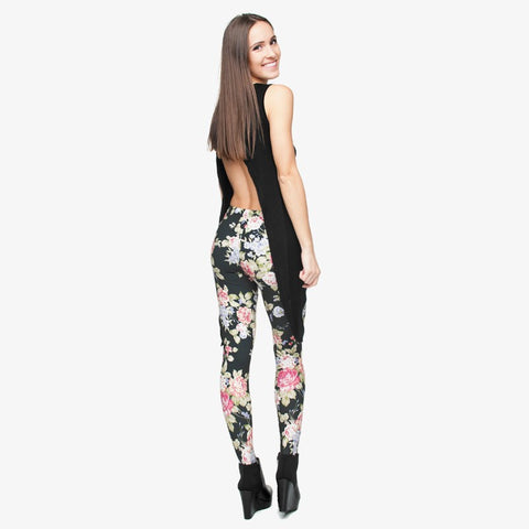 FashionMe Flower power leggings