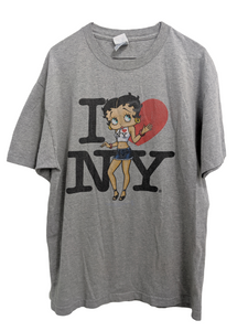 [L] Vintage Betty Boop I Love New York Tee
