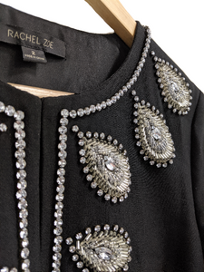 [XS] Rachel Zoe Rhinestone Embellished Dress