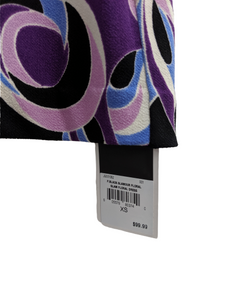 [XS] NWT Juicy Couture Purple Print Dress