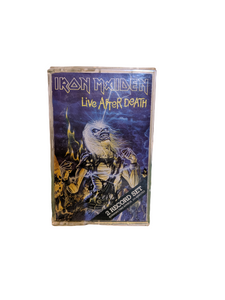 Iron Maiden Cassette Tape